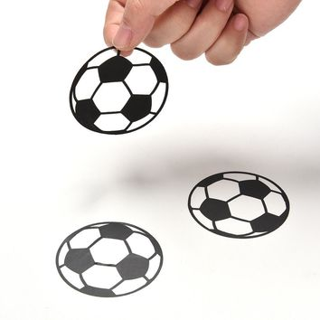 20PCS/Set PVC Personalized Football Soccer Ball wall sticker For Kids Rooms Nursery Decor