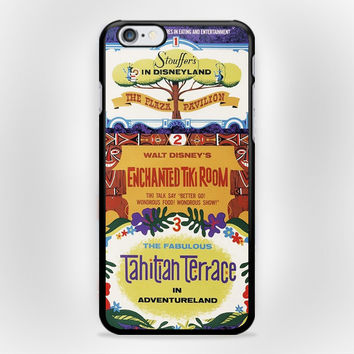 Tiki Room Vintage Disney iPhone 6s Case
