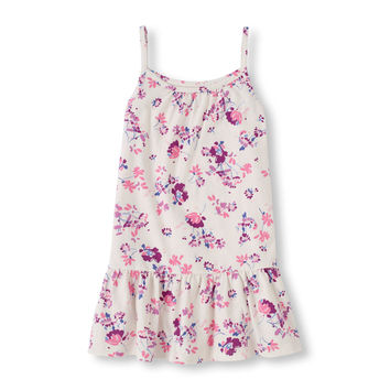 Strappy Floral Print Tank | US Store