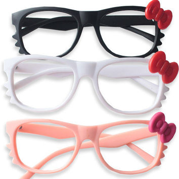 Hello Kitty Glasses Frame - Mexy  - $4 Flat rate Worldwide Shipping. Free shipping for orders over $50!