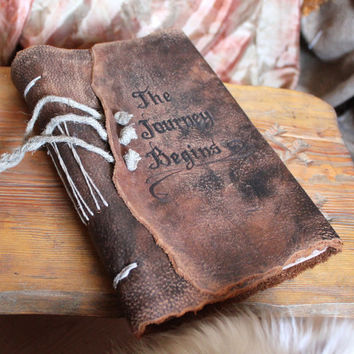 Wedding guest book Custom rustic leather Medieval weddings bridal shower engagement anniversary