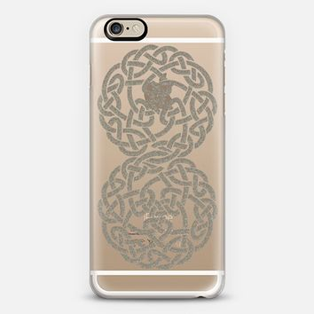 Celtic 4 Silver iPhone 6 case by Alice Gosling | Casetify