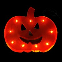 Halloween Marquee LED Decorative Lighted Signs (Jack-O-Lantern Pumpkin)