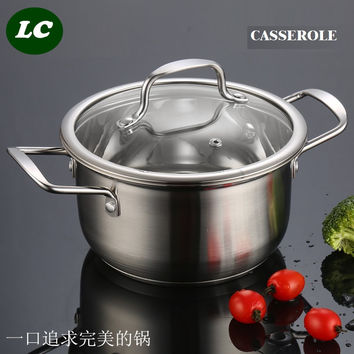 FREE SHIPPING CASSEROLE UTENSIL COOKWARE SET food cooking pot kitchenware stew pot high quality