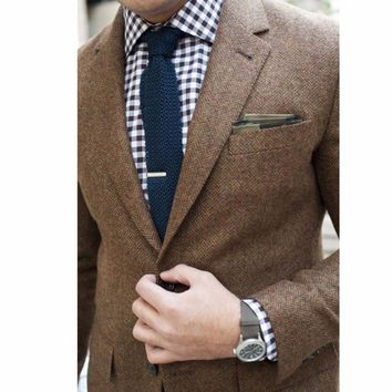 Best Mens Tweed Coat Products on Wanelo