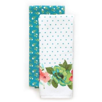 The Pioneer Woman Vintage Bloom Kitchen Towel, 2 pk - Walmart.com