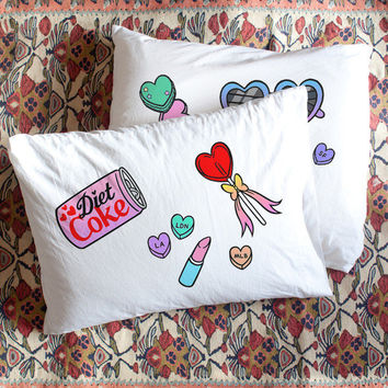 Kawaii as Fuck pillow cases by Bei Badgirl