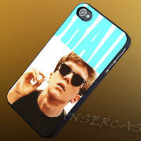 Brian Johnson Breakfast Club Smoking - iPhone 4/4s/5c/5s/5 Case - Samsung Galaxy S3/S4 Case - Black or White