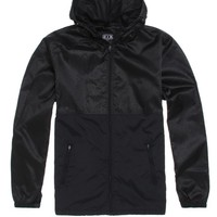 Rook Cyrus Windbreaker Jacket - Mens Jacket - Black