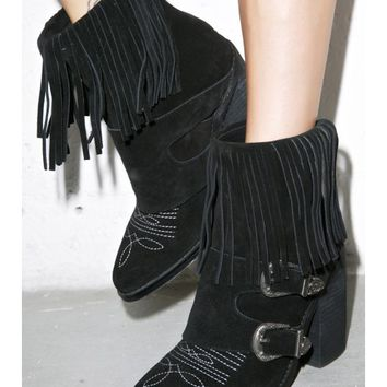 Nightwalker High Lonesome Boots | Dolls Kill