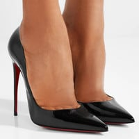 Christian Louboutin - So Kate 120 patent-leather pumps