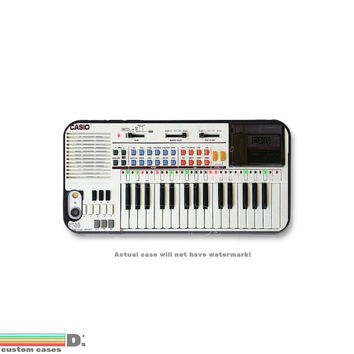 Retro 80's Keyboard, Custom Phone Case for iPhone 4/4s, 5/5s, 6/6s, 6/6s+, iPod Touch 5