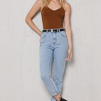 PacSun Soft Blue Ripped Super High Rise Skinny Jeans at PacSun.com