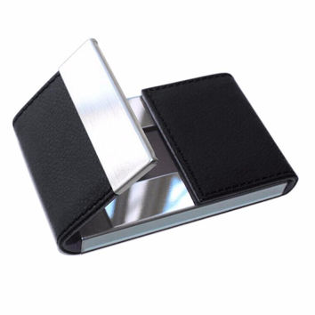 Men & Woemn passport credit card holder business card holder id carteira tarjetero mujer unda pasaporte aluminum wallet cards