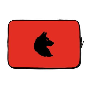 THE KING WOLF Laptop sleeve