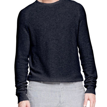 Steven Textured Raglan Sweater,