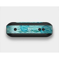 The Blue Abstarct Cells with Fish Water Illustration Skin Set for the Beats Pill Plus