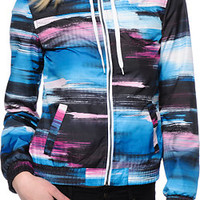 Empyre Girls Carmen Paint Blue Windbreaker Jacket