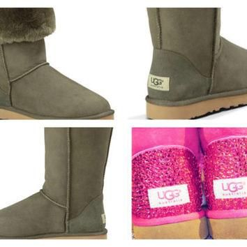 Custom UGG Boots made with Swarovski Classic Tall Free: Shipping, Repair Kit, Cleaning
