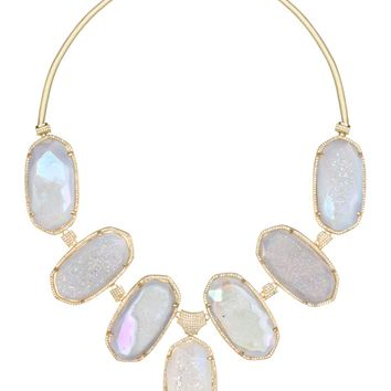 Kendra Scott Jewelry - Miriam Bib Necklace in Iridescent Drusy