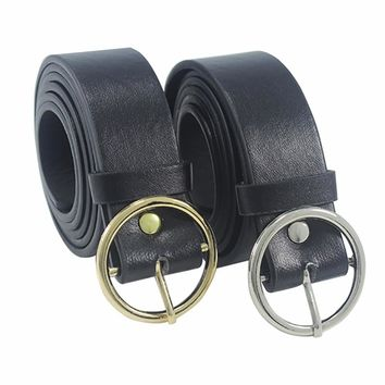 Round Metal Circle Belts