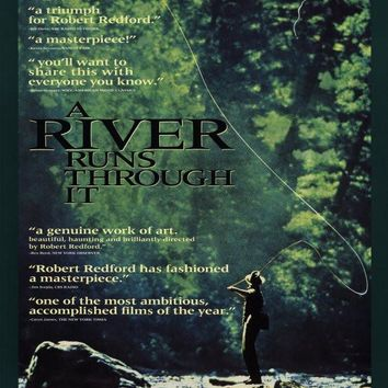 A River Runs Through It 27x40 Movie Poster (1992)