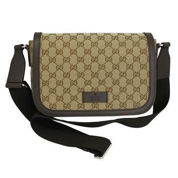 Gucci GG Canvas Cross Body Messenger Bag 449172