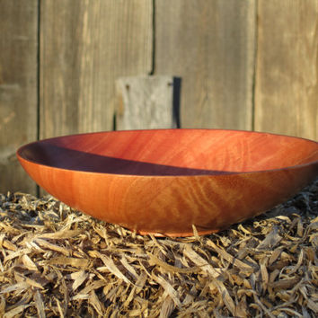 Wooden Bowl Brilliantly Colored Hand Turned Wood by TakingTurns