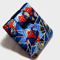 Hand Crafted Tablet Case From Licensed Marvel Amazing Spiderman Fabric/Case for iPad,Kindle Fire HD, iPad Mini, iPad Air, Samsung Galaxy Tab