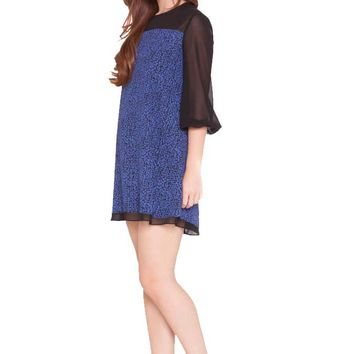Olian Katherine Chiffon Maternity Tunic Dress