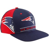 Reebok New England Patriots Navy Blue-Red Duality Snapback Hat
