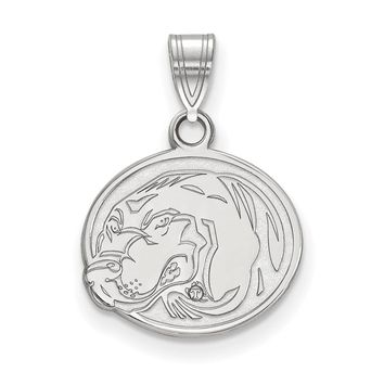 NCAA Sterling Silver U. of Tennessee Small Pendant Necklace