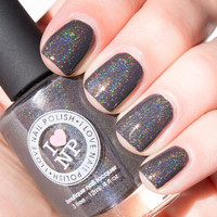 A.C. Slater - Slate Grey Brown Holographic SpectraFalir Nail Polish