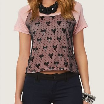 Bow Lace Crop Top | Fashion | rue21