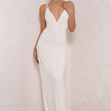 Theia Gown White