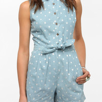 Urban Outfitters - DV By Dolce Vita Calandra Chambray Romper