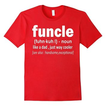 Men's Funcle Definition T-shirt Funny Gift For Uncle T-shirt