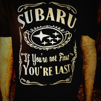 Subaru T-Shirt WRX STi Outback Car Racing Shirt   Spoof all sizes
