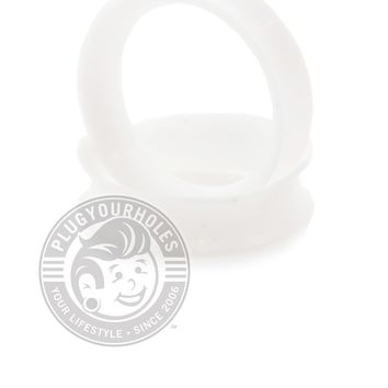 White Silicone Ear Skins