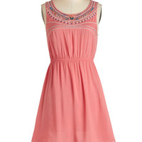 ModCloth Boho Mid-length Sleeveless A-line Festival of Friends Dress