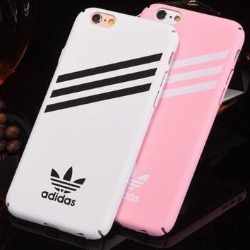 Adidas Fashion Print iPhone Phone Cover Case For iphone 6 6s 6plus 6s plus 7 7plus 8 8plus iphoneX-6