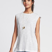 Banana Republic Womens Cutout Back Drapey Top