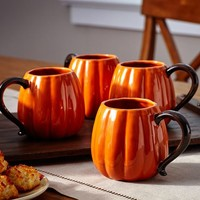 PUMPKIN MUG, SET OF 4