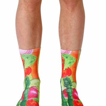 Veggies Crew Socks