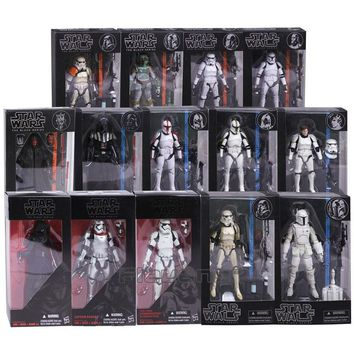 Star Wars Black Series Collectible Figures. Kylo Ren, Darth Vader, & Many More !