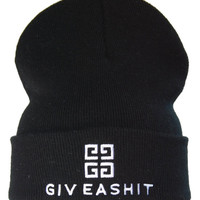 GIVEASHIT Givenchy  IFFY beanie by smoothoutcome on Etsy