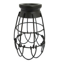 Shop Portfolio 7.25-in H x 4.62-in W French Bronze Metal Mix and Match Mini Pendant Light Shade at Lowe's
