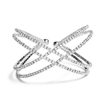 Flexi Crisscross Bracelet at Guess