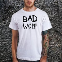 Dr. Who Bad Wolf T-Shirt -Cotton Men T Shirt ( Various Color Available )