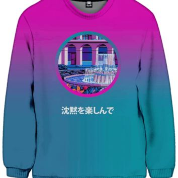 Tranquil Fountain Sweatshirt
